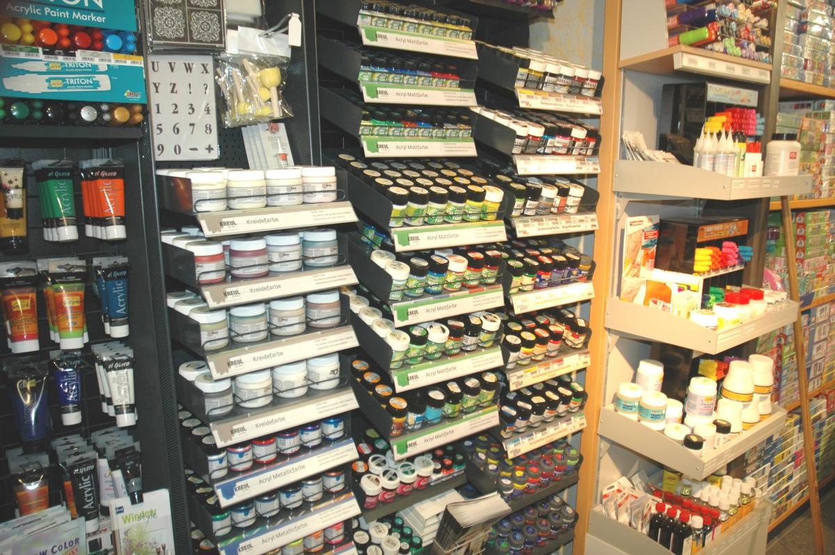 Acryl, Window Color, Kreidefarben, Plusterpens u.v.v.m